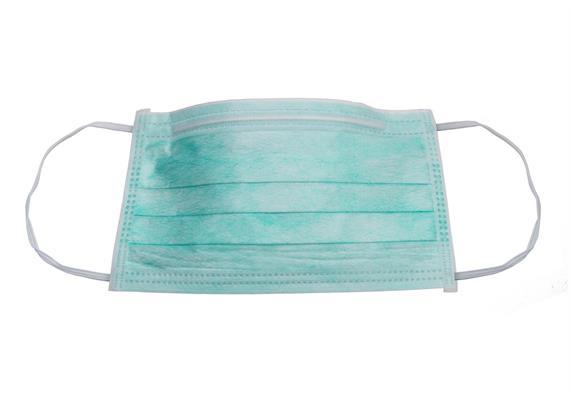 Atemschutz-/OP-Maske 3-lagiges Filtermedium Typ II, 50Stück, geprüft und zugel. durch EMPA