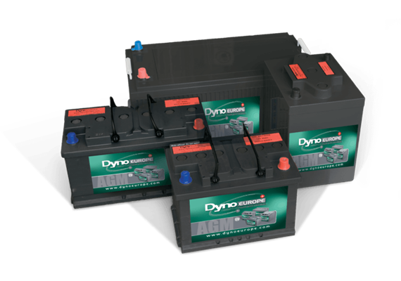 Batterie AGM 12V 102.6Ah/C20 (DAB12-100EV) 306x168x212cm/M8, 29kg