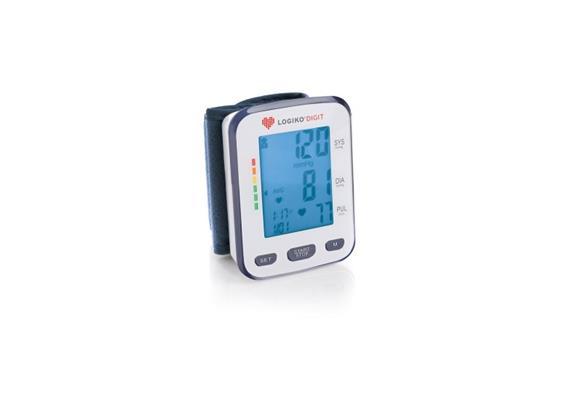 """Blutdruckgerät für Handgelenk (autom.) 2.5"""" LCD-Display"""