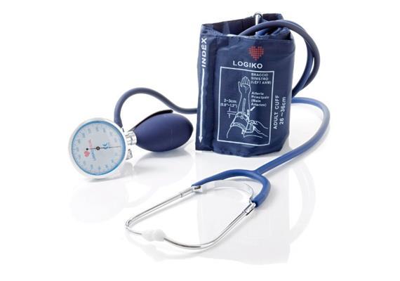 Blutdruckgerät (man.) mit Stethoskop