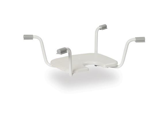 Einhänge-Badewannensitz mit Hygieneausschnitt, B69-78cm, max 130kg