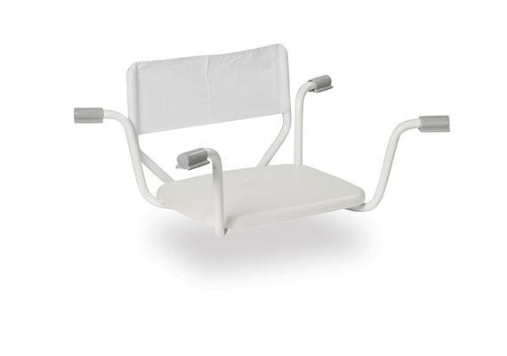 Einhänge-Badewannensitz mit Rücken soft, B69-78cm, max 130kg