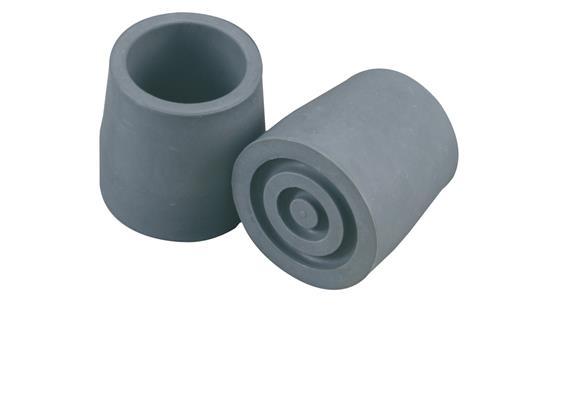 Gehbockgummi grau 25mm einzel