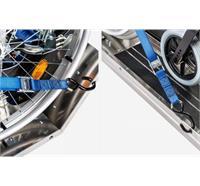 Gurtsystem zu Auffahrrampen von Treppenraupe PTR