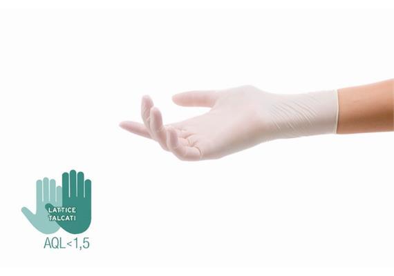 Latex-Handschuhe Gr. M (100 Stk.)