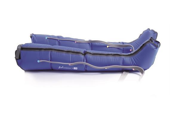 Lymphtherapie-Bandage Bein inkl. Anschluss-Schlauch Gr. S/M