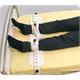 Segufix Akut Fixierung Fuss Gr. S 17-25cm mit Magnetschlosssystem schwarz/rot