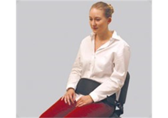Segufix Beckengurt für Stuhl oder Sessel, grau, 74cm lang
