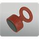 Segufix Magnetschlüssel rot
