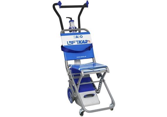 Treppensteiger Liftkar für Personentransport PT-Fold 130 mit faltbarem Transportstuhl