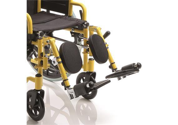 Wadenplatte zu Beinstützen CPR817 hochstellbar von Kinderrollstuhl