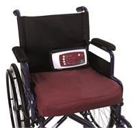 Coussin de siège à pression alternée 43x43x10cm, capacité de charge maximale de 120 kg