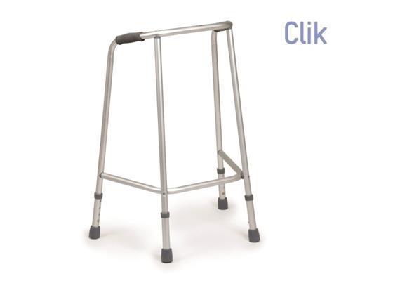 Déambulateur standard fixe pour adultes hauteur de la poignée 75-85cm
