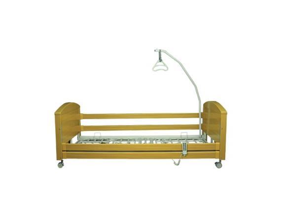 Lit de soins Athena 90x200cm avec potence de lit en 2-pièces