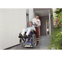 Monte-escalier électrique pour les personnes avec chaise roulant