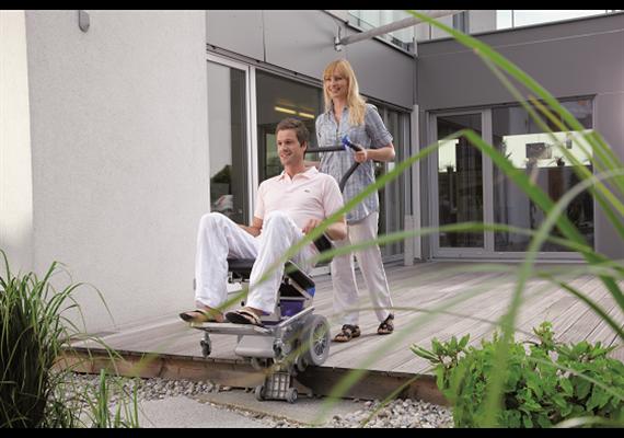 Monte-escalier Liftkar pour les personnes PT-Outdoor 120