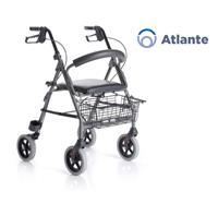Rollator Atlante avec siège et dossier rembourrés