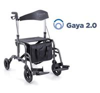 Rollator/chaise roulant Gaya 2.0 - double function