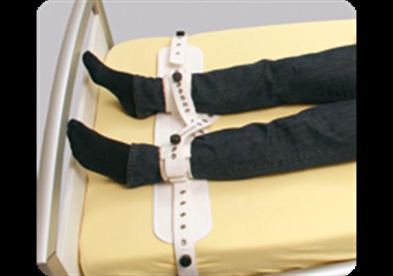 Segufix fixation acute pied Gr. M 22-30cm système de verrouillage magnétique noir/rouge
