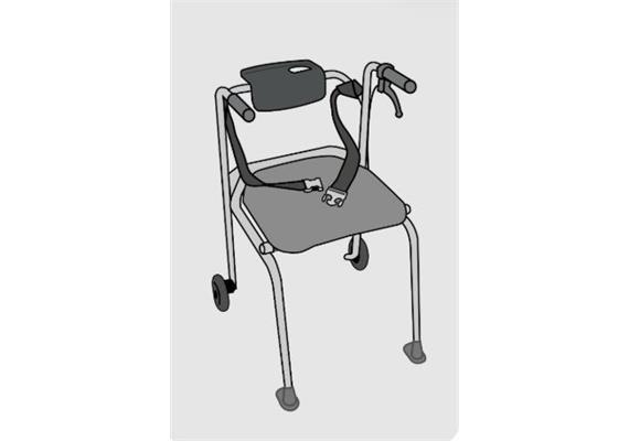 ShowerBuddy HY5 option ceinture de sécurité