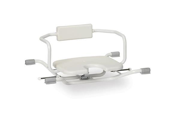 Siège de bain hyg. avec fonction de rotation 40x40cm, B 75cm