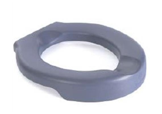 Siège de toilette souple PU 6cm bleu