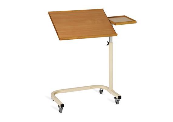 Table de lit hêtre 54x41cm+32x21cm